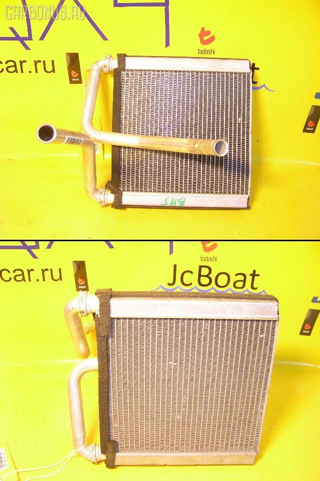 Радиатор печки SUBARU LEGACY WAGON BH5 EJ20. Фото 1