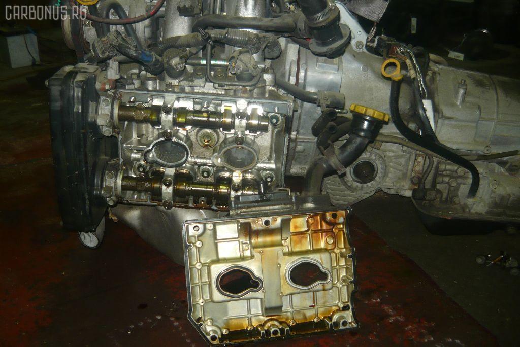 Двигатель SUBARU FORESTER SF5 EJ20G-T. Фото 1