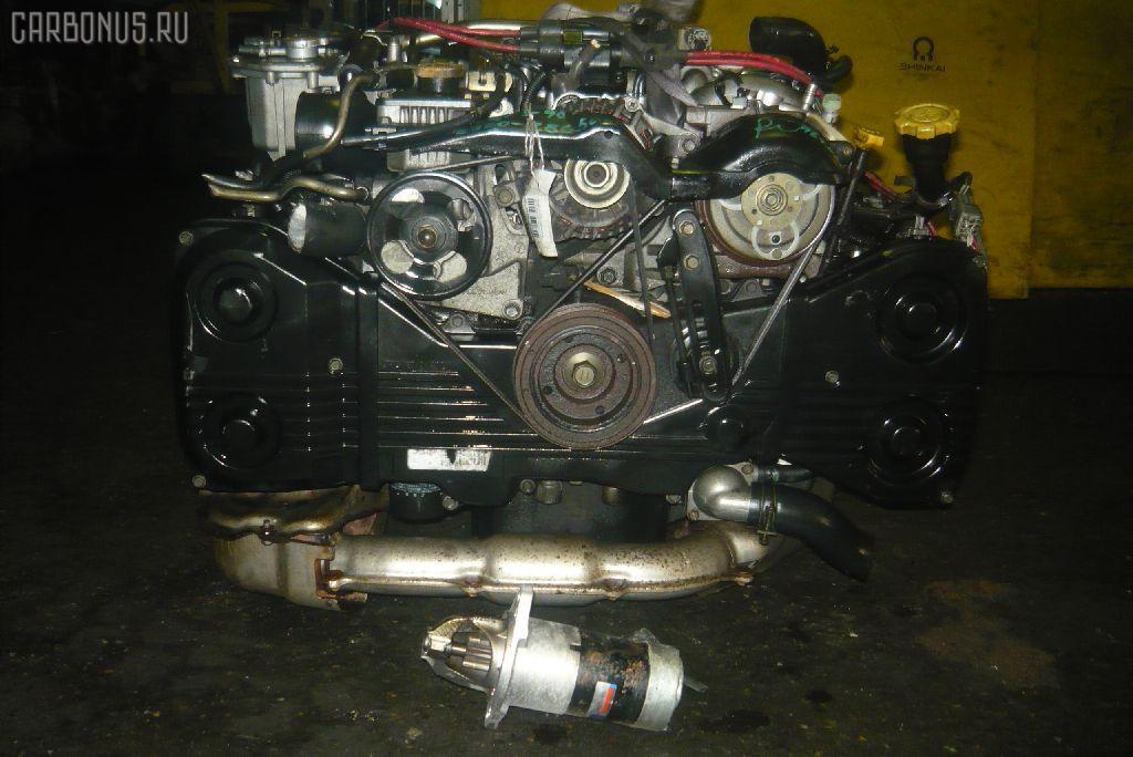 Двигатель SUBARU FORESTER SF5 EJ20G-T. Фото 2