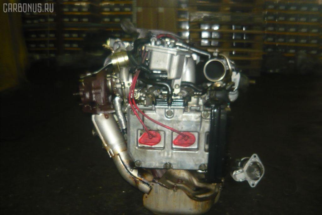 Двигатель SUBARU FORESTER SF5 EJ20G-T. Фото 3