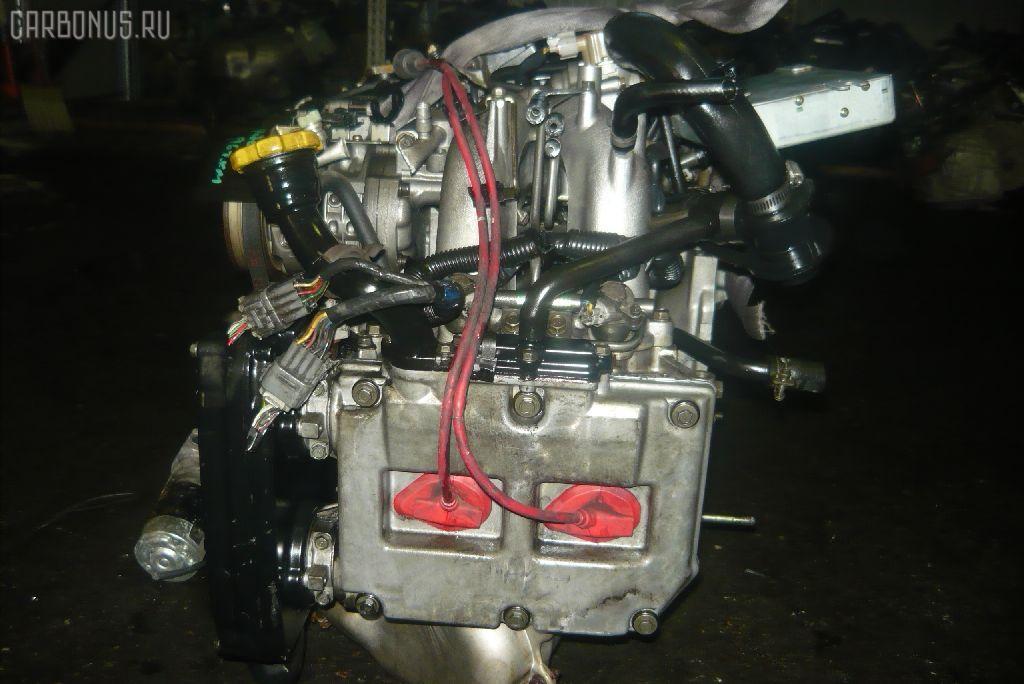 Двигатель SUBARU FORESTER SF5 EJ20G-T. Фото 4