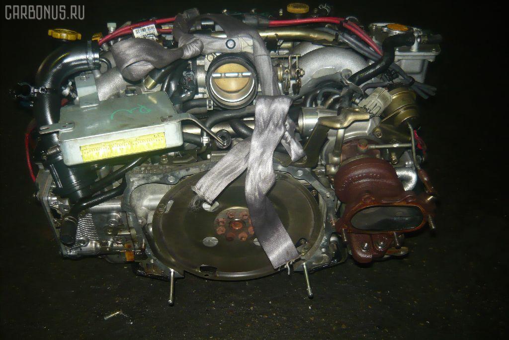 Двигатель SUBARU FORESTER SF5 EJ20G-T. Фото 5