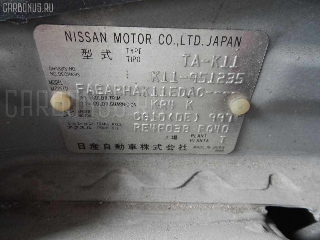 Подкрылок NISSAN MARCH K11 CG10DE Фото 5