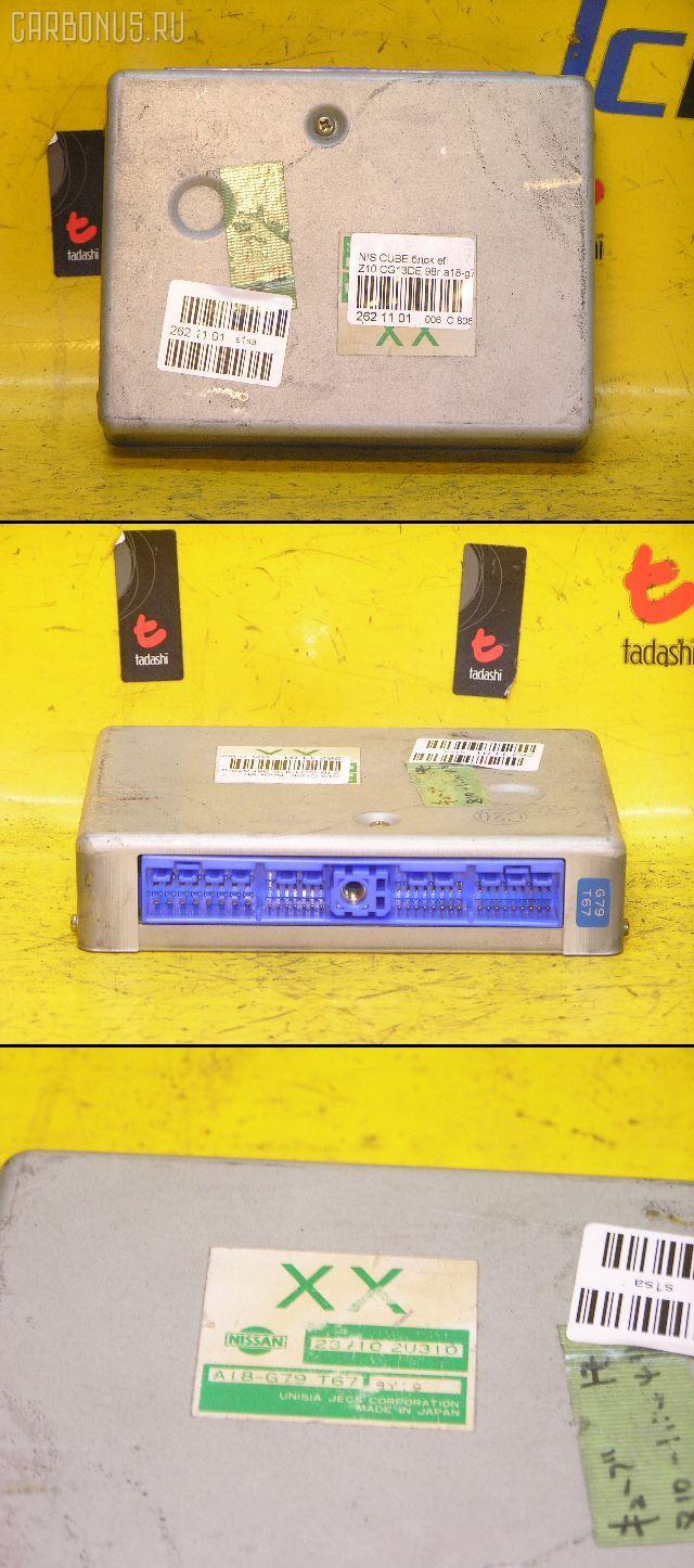 Блок EFI NISSAN CUBE Z10 CG13DE. Фото 2
