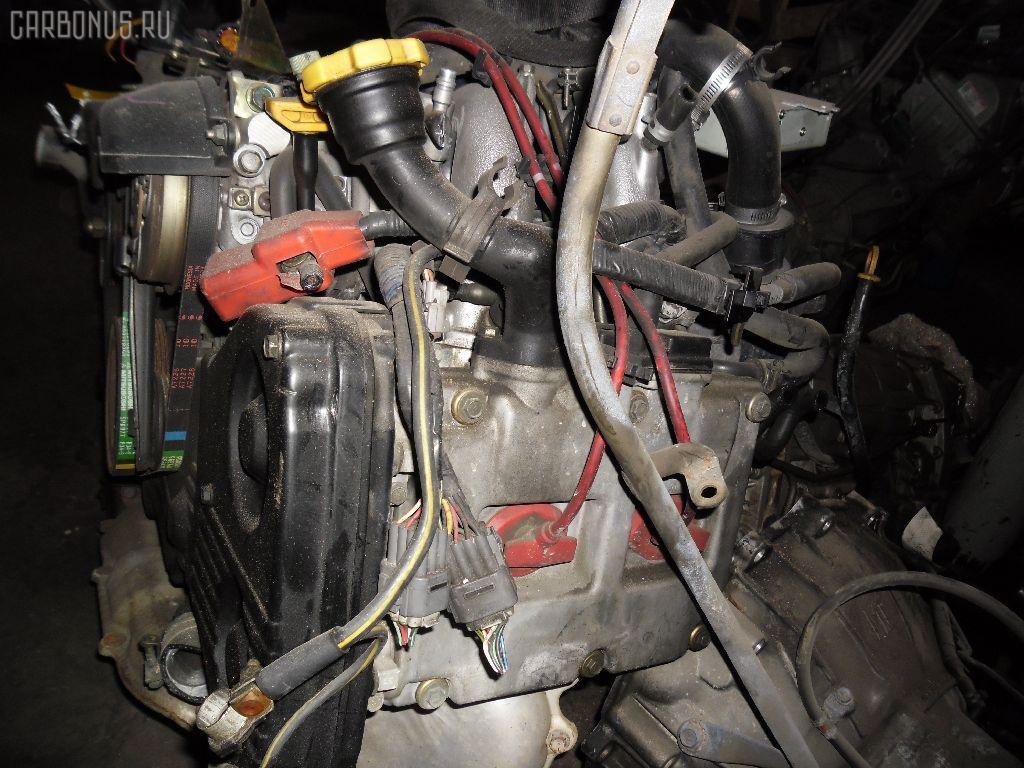 Двигатель SUBARU FORESTER SF5 EJ20G-T. Фото 8