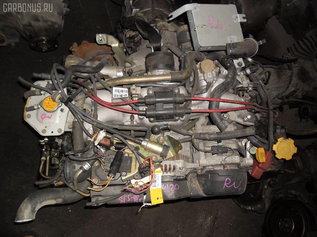 Двигатель SUBARU FORESTER SF5 EJ20G-T. Фото 11