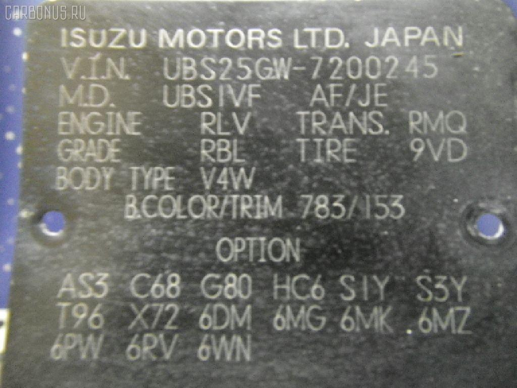 КПП автоматическая HONDA HORIZON UBS25GWH 6VD1 Фото 6