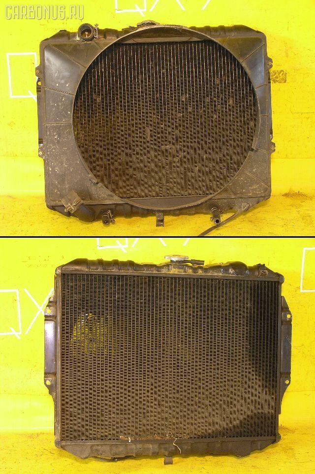 Радиатор ДВС MITSUBISHI PAJERO V43W 6G72. Фото 4