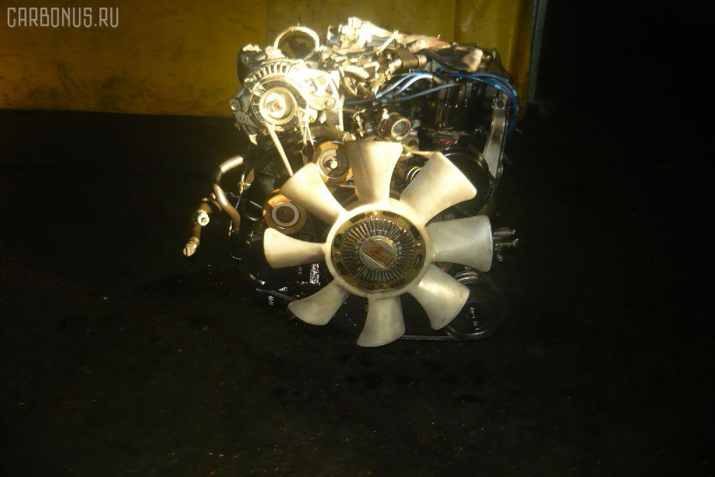 Двигатель MITSUBISHI PAJERO V43W 6G72. Фото 1