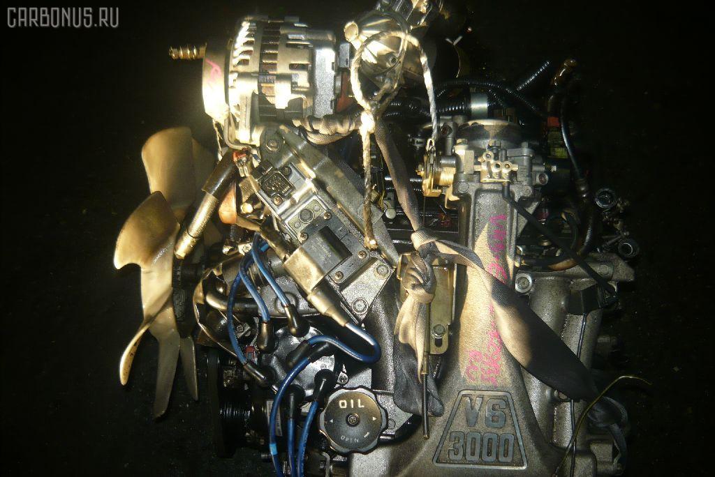 Двигатель MITSUBISHI PAJERO V43W 6G72. Фото 2
