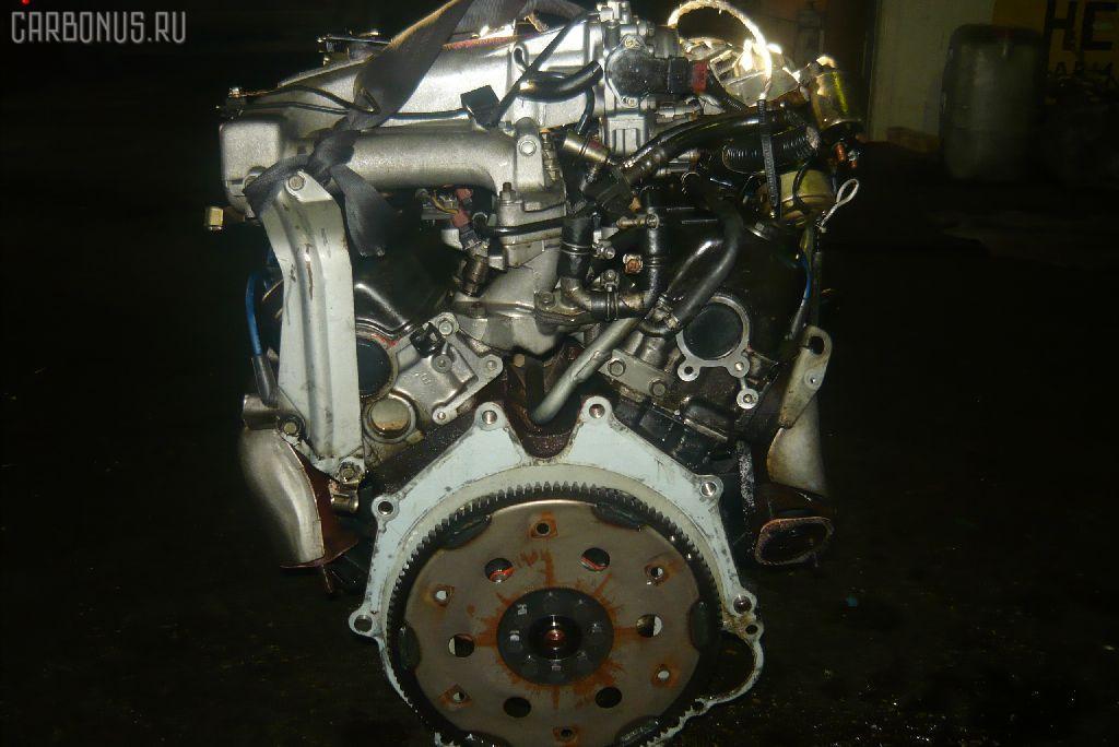 Двигатель MITSUBISHI PAJERO V43W 6G72. Фото 4
