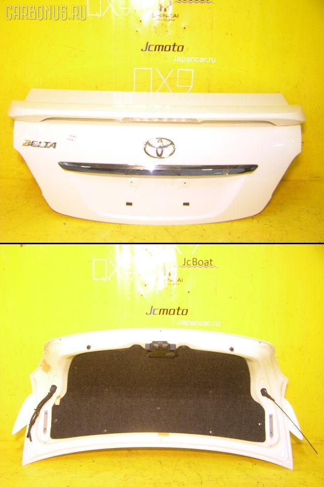 Крышка багажника TOYOTA BELTA SCP92. Фото 10