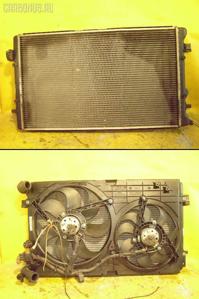 Радиатор ДВС AUDI A3 8LAGN AGN. Фото 1