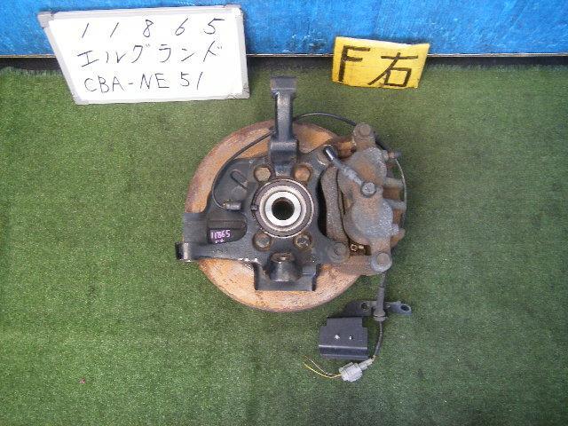 Ступица NISSAN ELGRAND NE51 VQ35DE. Фото 3