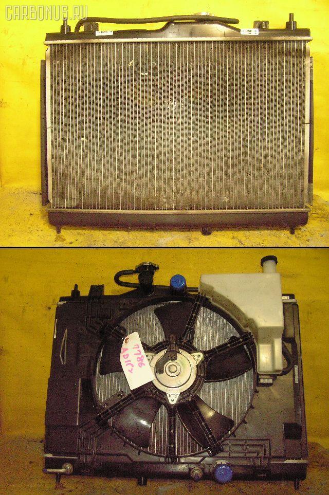 Радиатор ДВС NISSAN AD EXPERT VY12 HR15DE. Фото 1