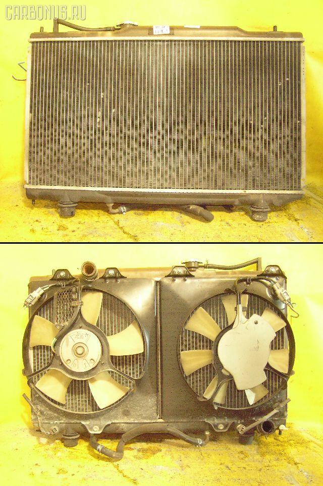 Радиатор ДВС TOYOTA CALDINA ST215W 3S-GTE. Фото 6