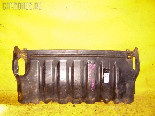 Защита двигателя Mitsubishi Pajero V43W 6G72 Фото 1