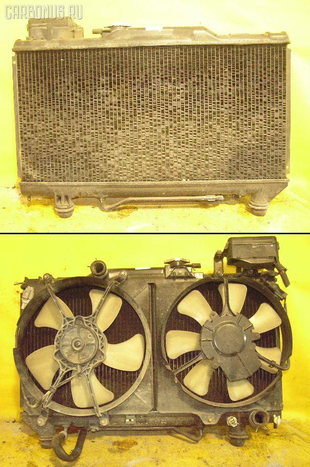 Радиатор ДВС TOYOTA CALDINA ST195G 3S-FE. Фото 3