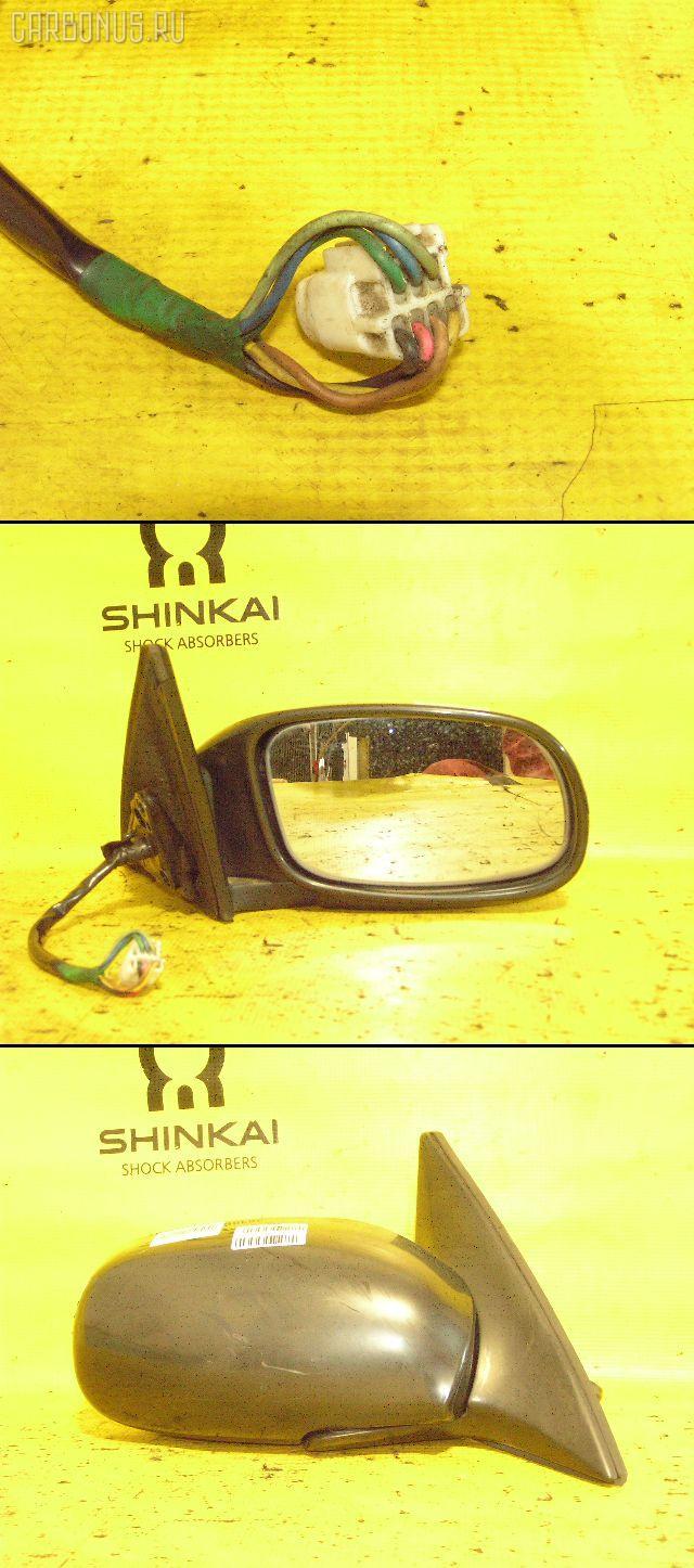 Зеркало двери боковой TOYOTA CALDINA ST195G. Фото 6