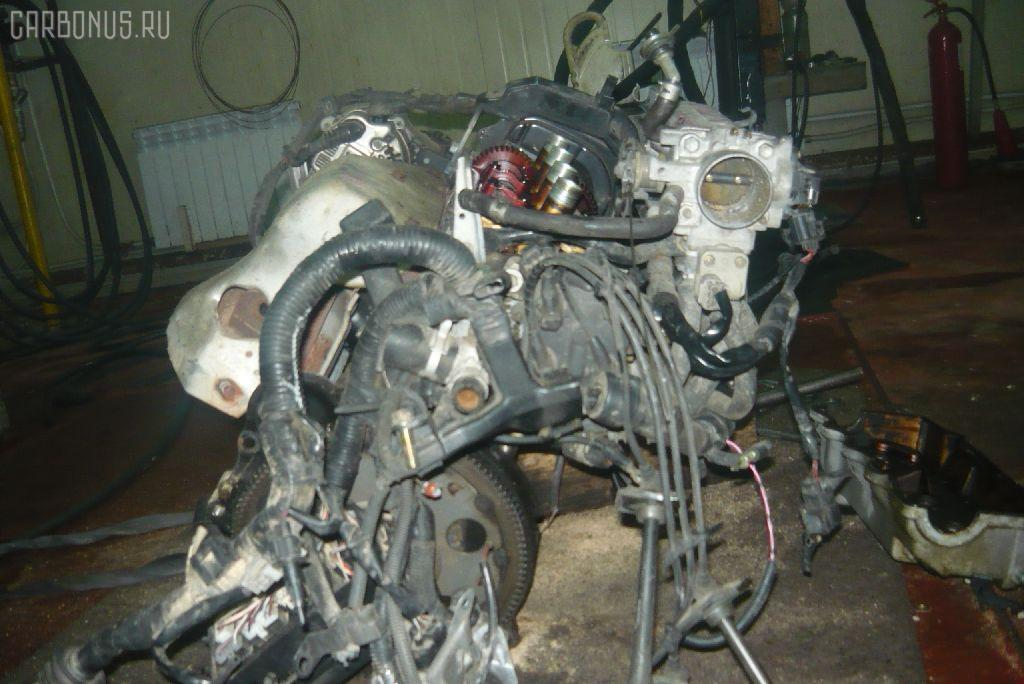 Двигатель TOYOTA VISTA SV43 3S-FE. Фото 4
