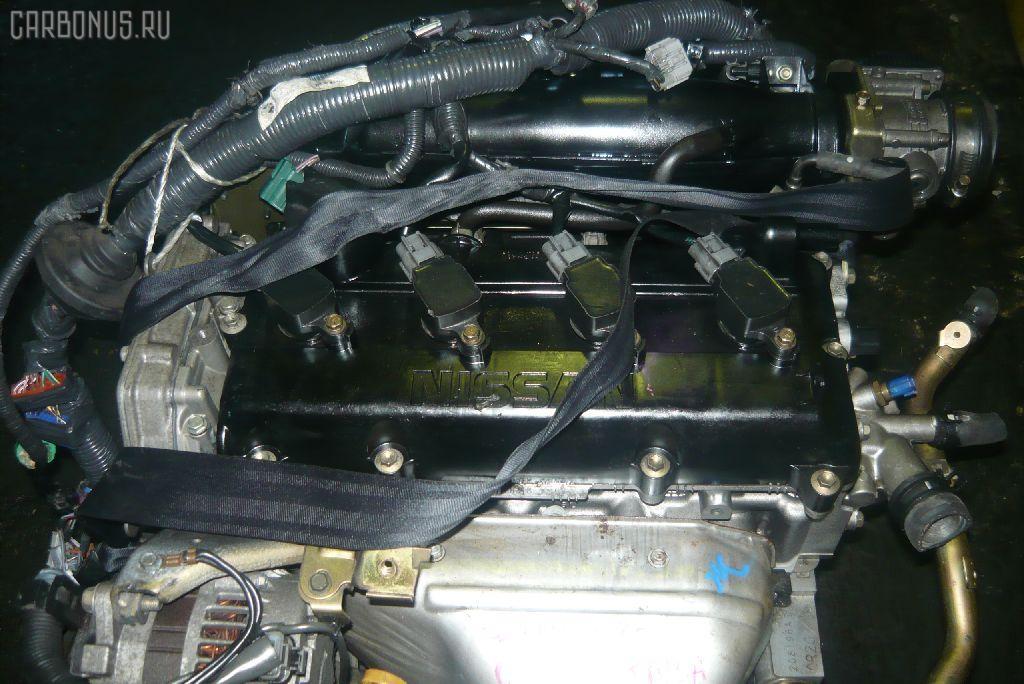 Двигатель NISSAN PRIMERA WAGON WTP12 QR20DE. Фото 9