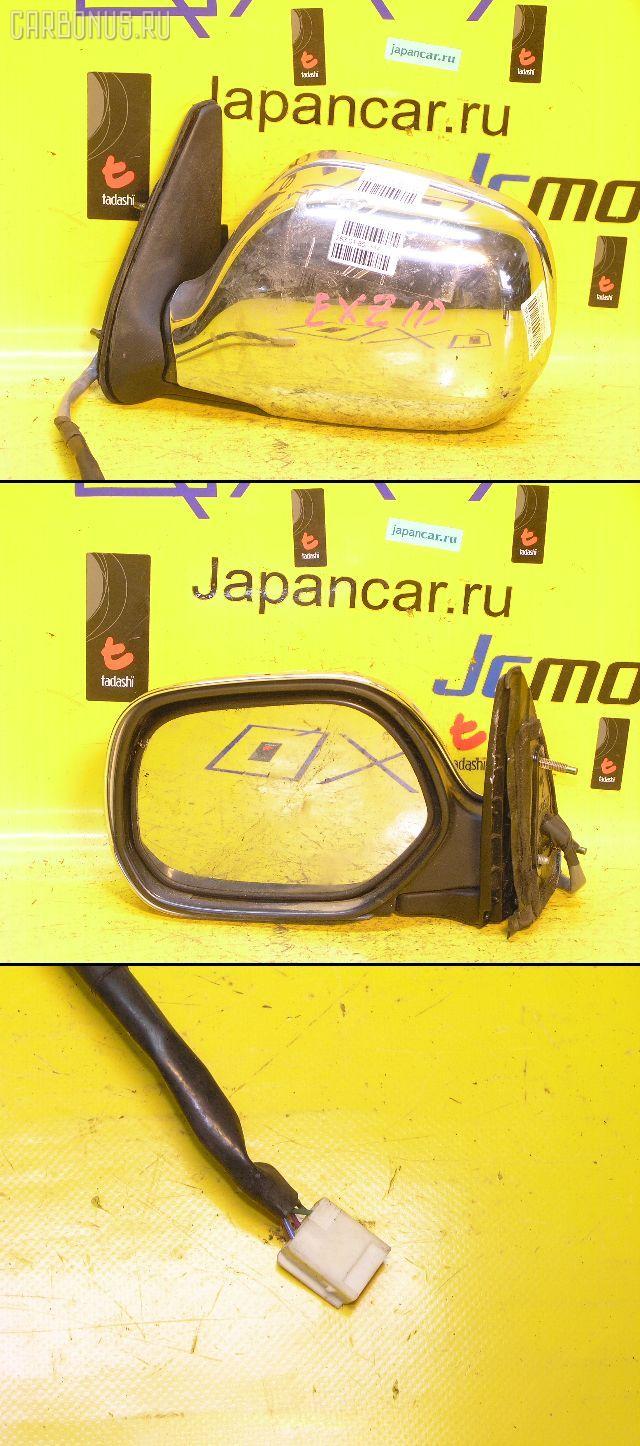 Зеркало двери боковой TOYOTA RAUM EXZ10. Фото 7