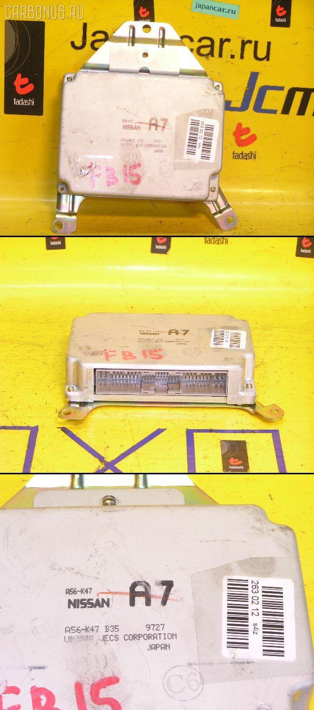 Блок EFI NISSAN SUNNY FB15 QG15DE. Фото 2