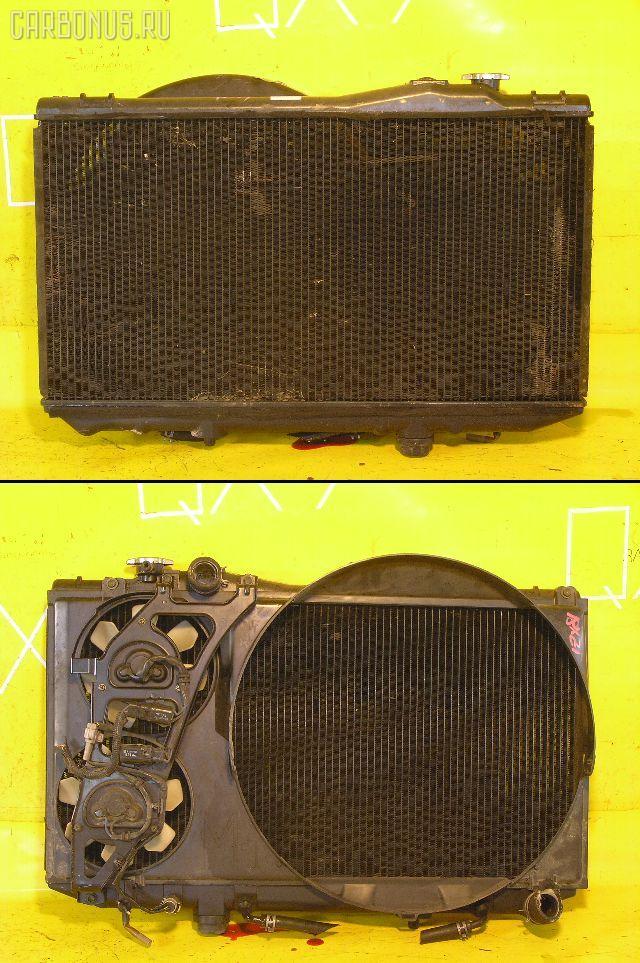 Радиатор ДВС TOYOTA MARK II JZX81 1JZ-GE. Фото 1
