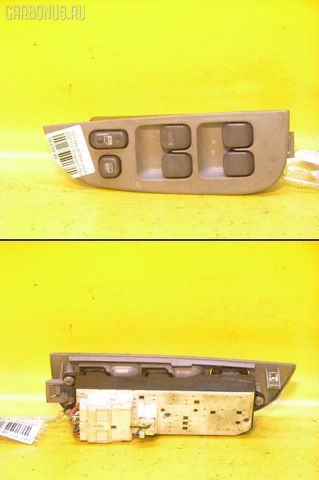 Блок упр-я стеклоподъемниками TOYOTA RAUM EXZ10. Фото 4
