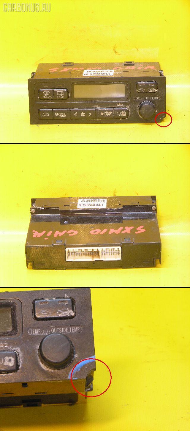 Блок управления климатконтроля TOYOTA GAIA SXM10G 3S-FE. Фото 9