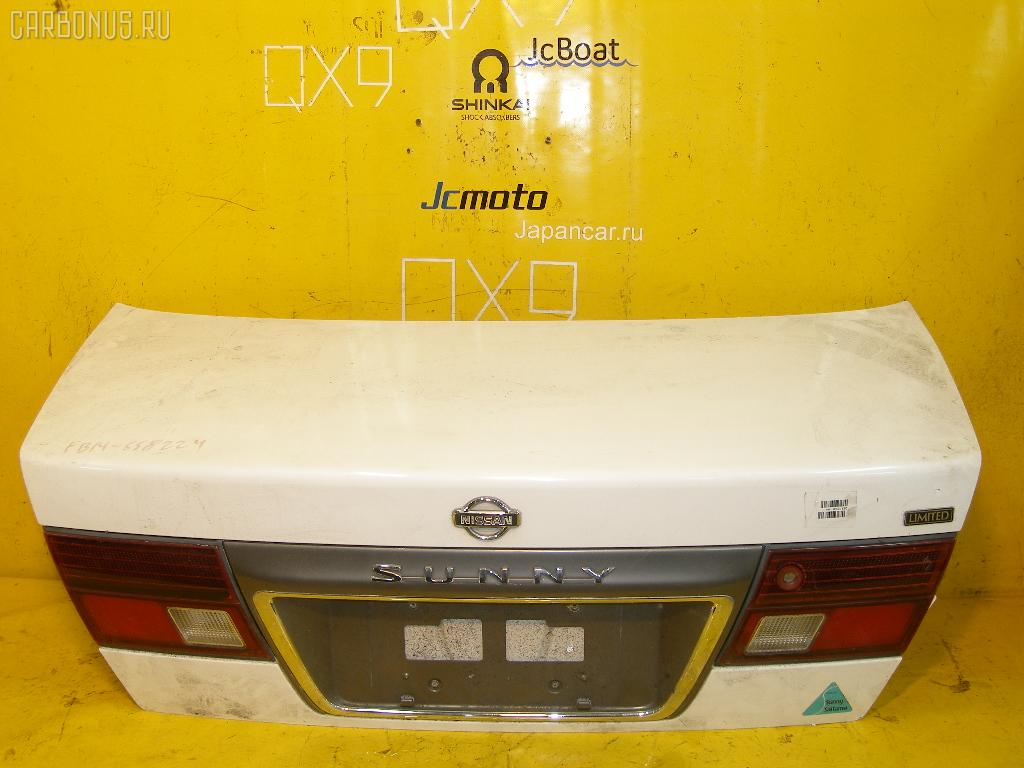 Крышка багажника NISSAN SUNNY FB14. Фото 1