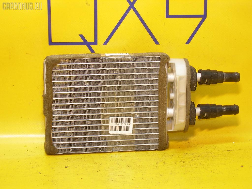 Радиатор печки NISSAN AVENIR PW11 SR20DE. Фото 2