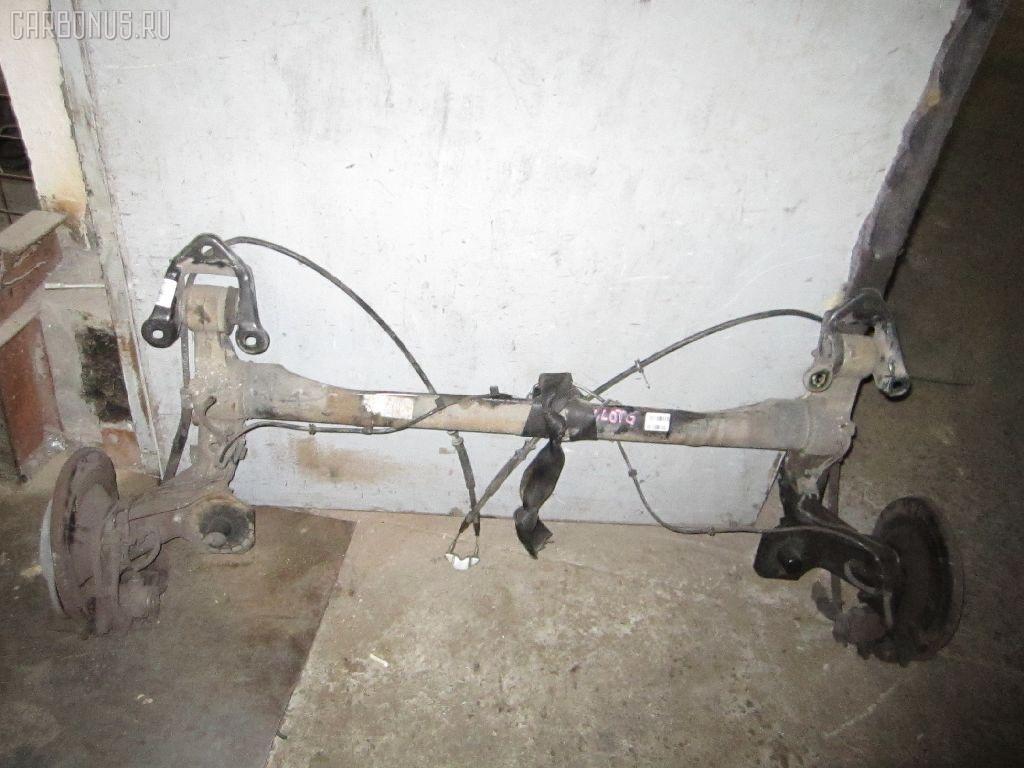 Балка подвески OPEL ASTRA G XK180 X18XE1. Фото 3
