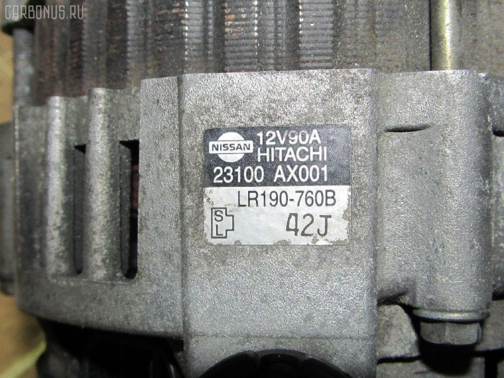 Генератор NISSAN MARCH AK12 CR12DE. Фото 1