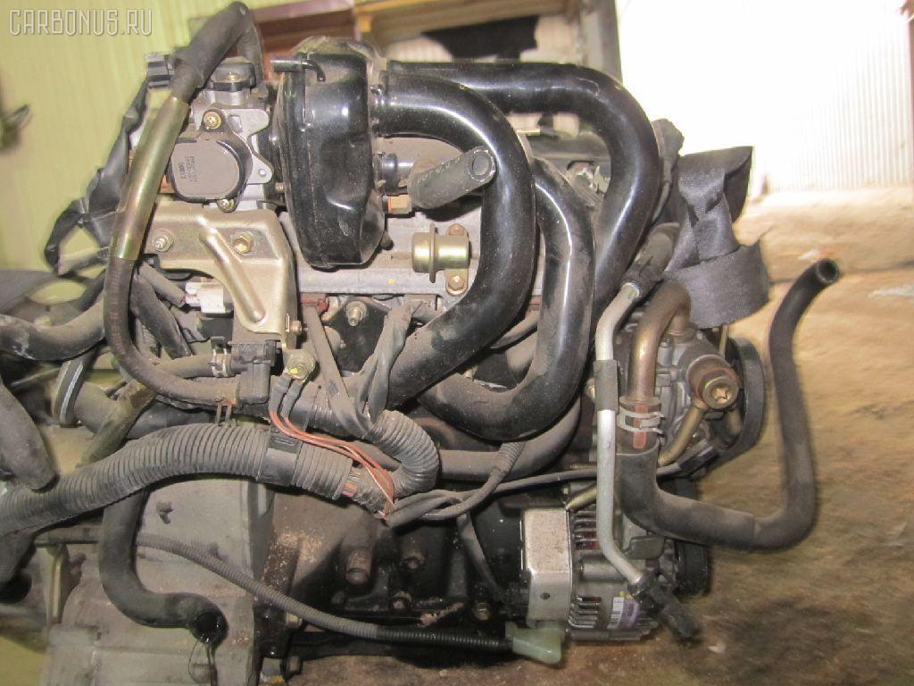 Двигатель TOYOTA DUET M100A EJ-VE. Фото 7