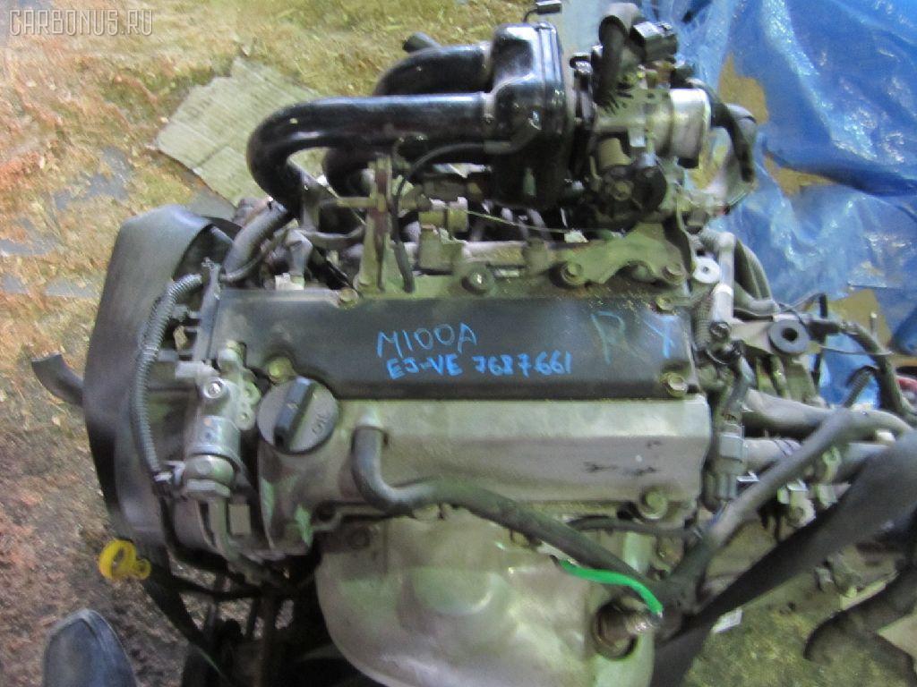 Двигатель TOYOTA DUET M100A EJ-VE. Фото 9