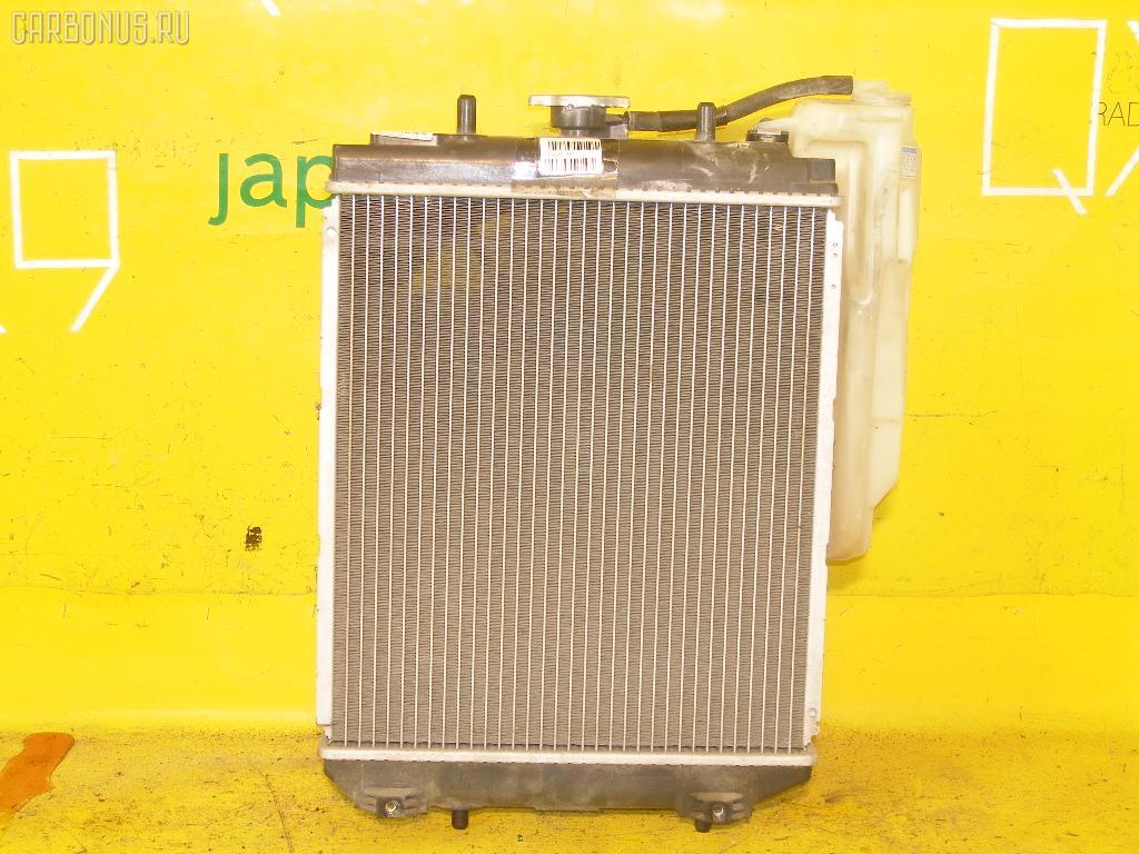 Радиатор ДВС TOYOTA DUET M100A EJ-DE. Фото 4