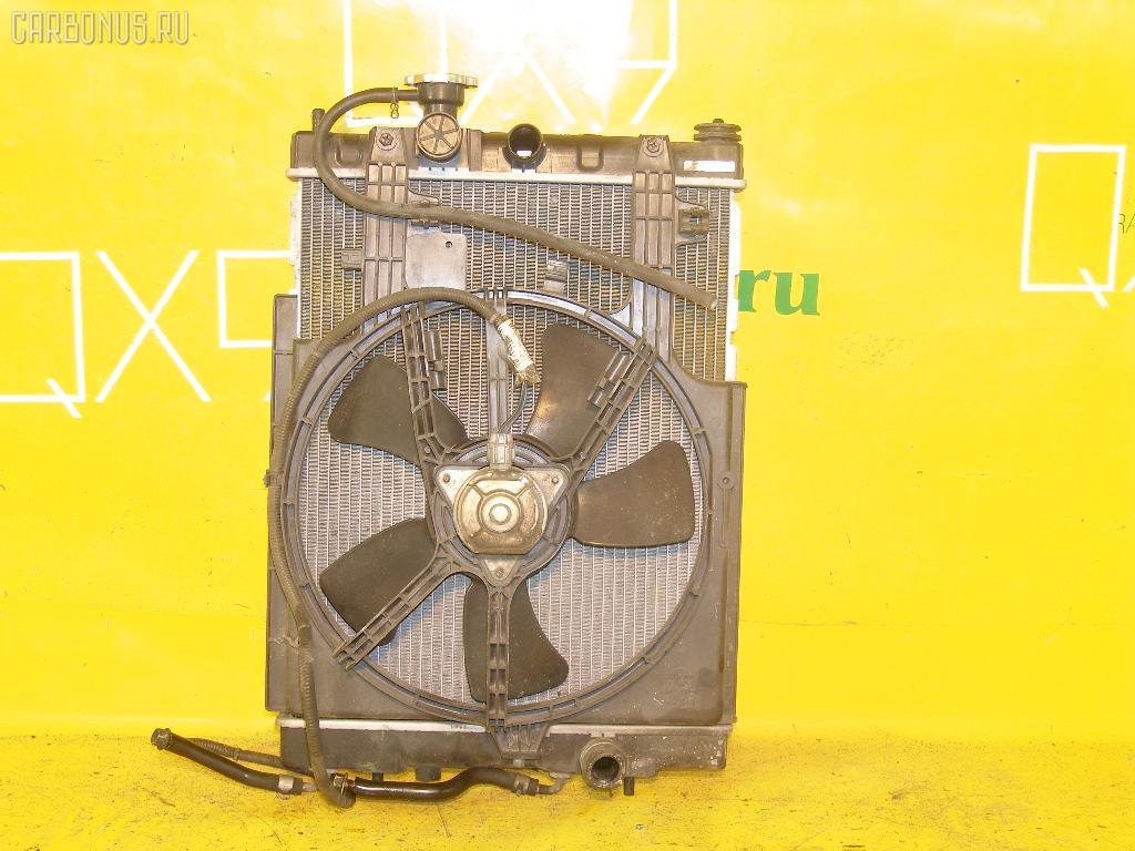Радиатор ДВС NISSAN CUBE AZ10 CGA3DE. Фото 11