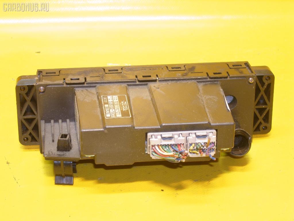 Блок управления климатконтроля SUBARU FORESTER SF5 EJ20-T. Фото 8