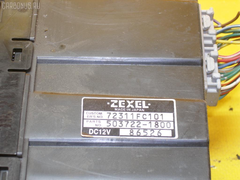 Блок управления климатконтроля SUBARU FORESTER SF5 EJ20-T. Фото 9