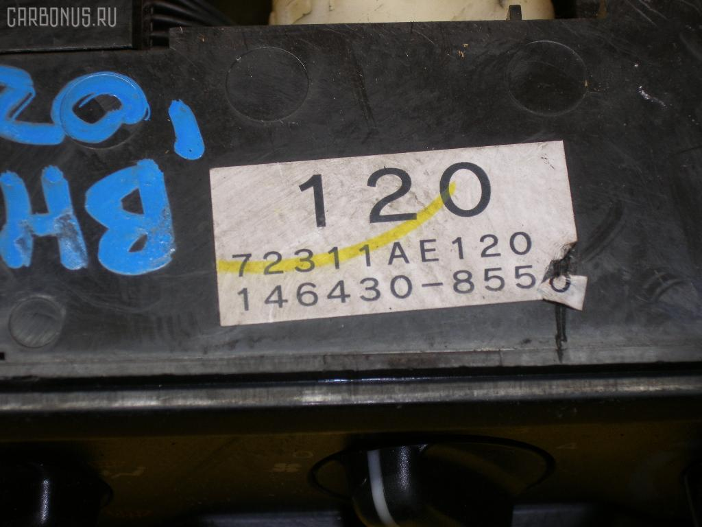 Блок управления климатконтроля SUBARU LEGACY WAGON BH5 EJ20. Фото 8