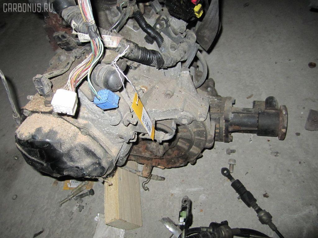 КПП механическая SUZUKI KEI HN11S F6A. Фото 2