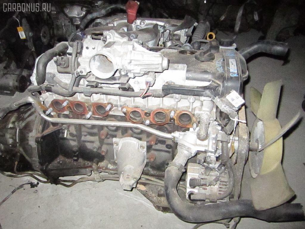 Двигатель TOYOTA CROWN JZS171 1JZ-GE. Фото 1