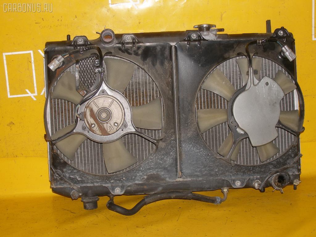 Радиатор ДВС TOYOTA CALDINA ST215W 3S-GTE. Фото 8