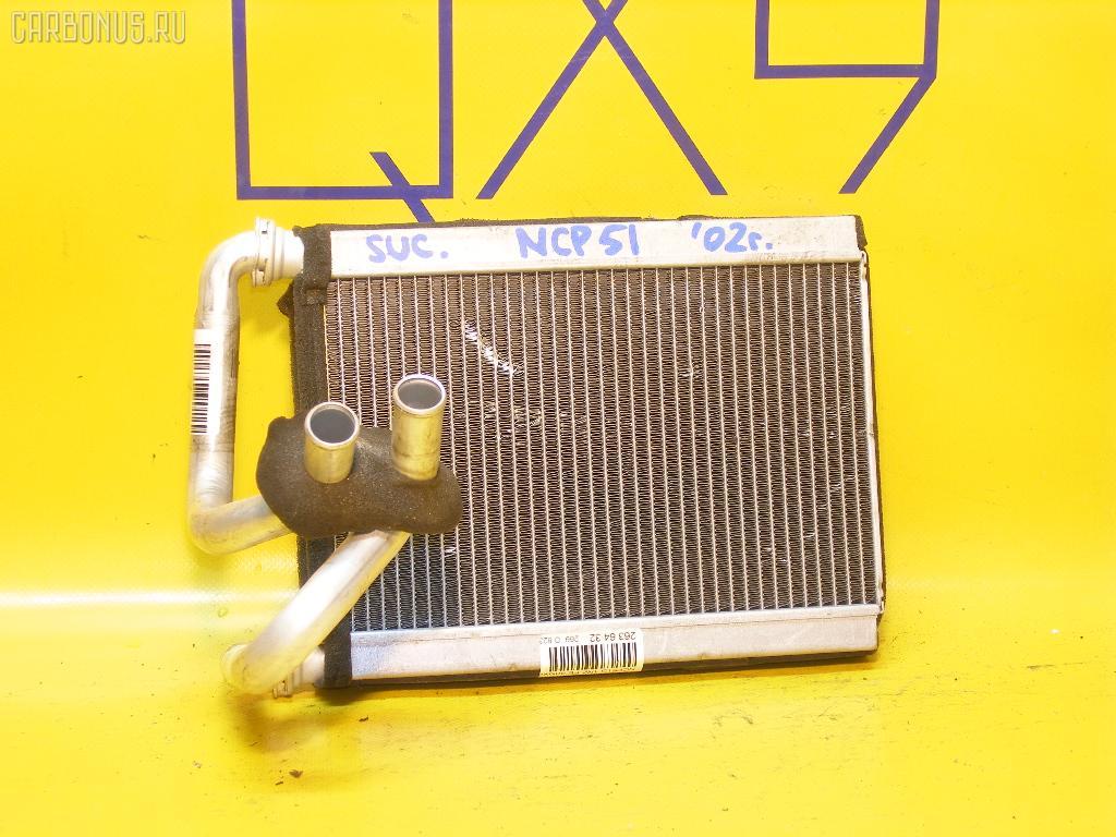 Радиатор печки TOYOTA SUCCEED NCP51G 1NZ-FE. Фото 1
