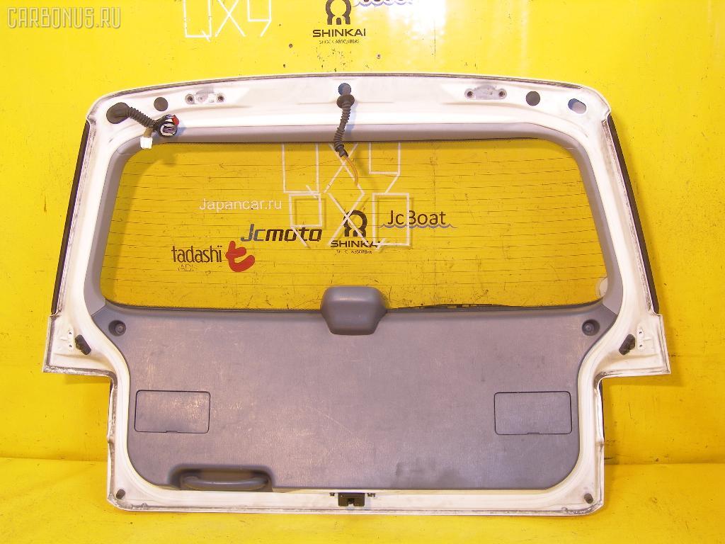 Дверь задняя TOYOTA IPSUM SXM10G. Фото 3