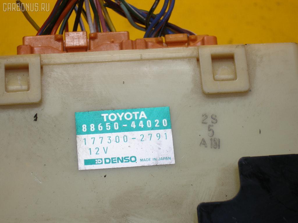 Блок управления климатконтроля TOYOTA IPSUM SXM10G 3S-FE. Фото 4
