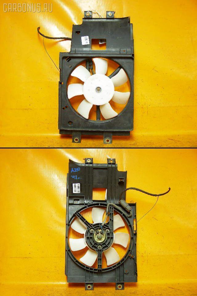Вентилятор радиатора кондиционера NISSAN CUBE AZ10 CGA3DE. Фото 4