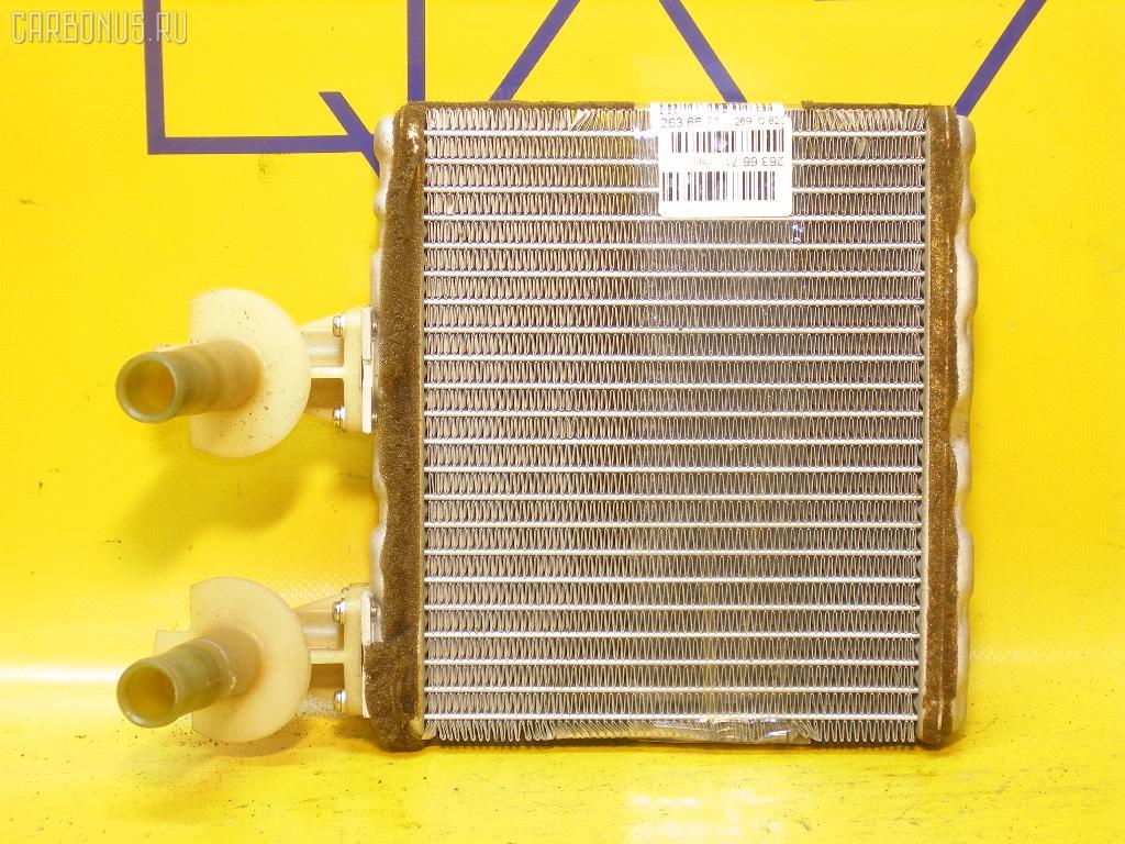 Радиатор печки NISSAN CUBE AZ10 CGA3DE. Фото 4