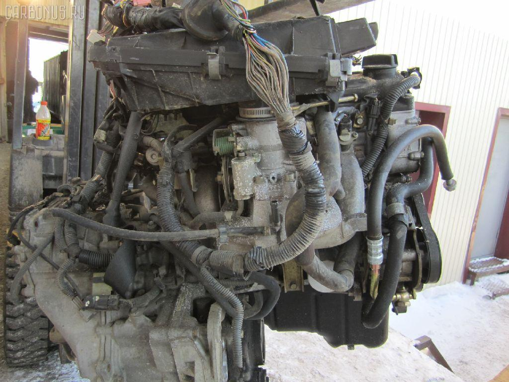 Двигатель NISSAN CUBE ANZ10 CGA3DE. Фото 9